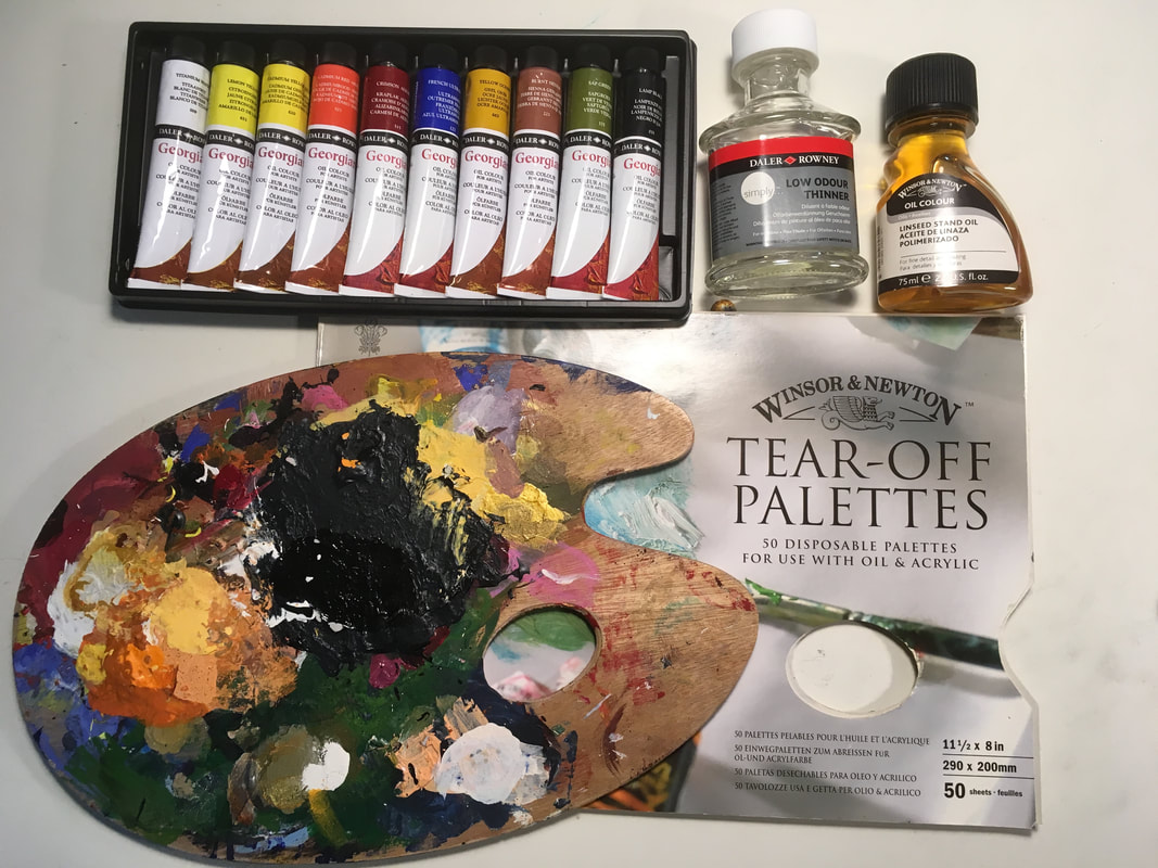 Art Supplies For Beginning Oil Painting